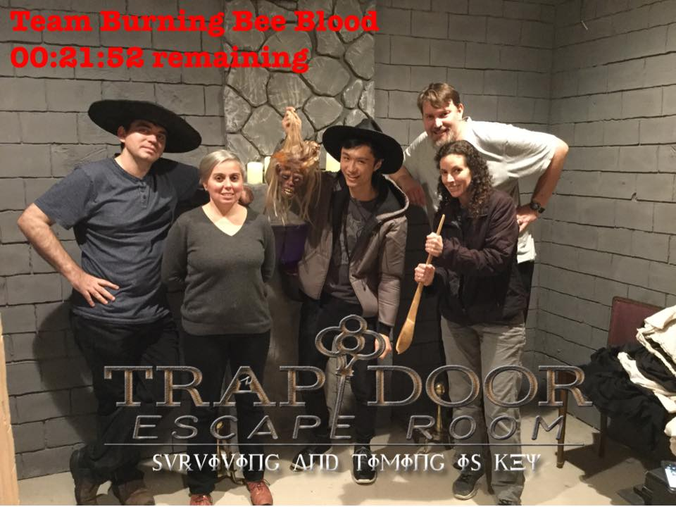 Trap Door Escape Room Morristown Nj Morristown Nj