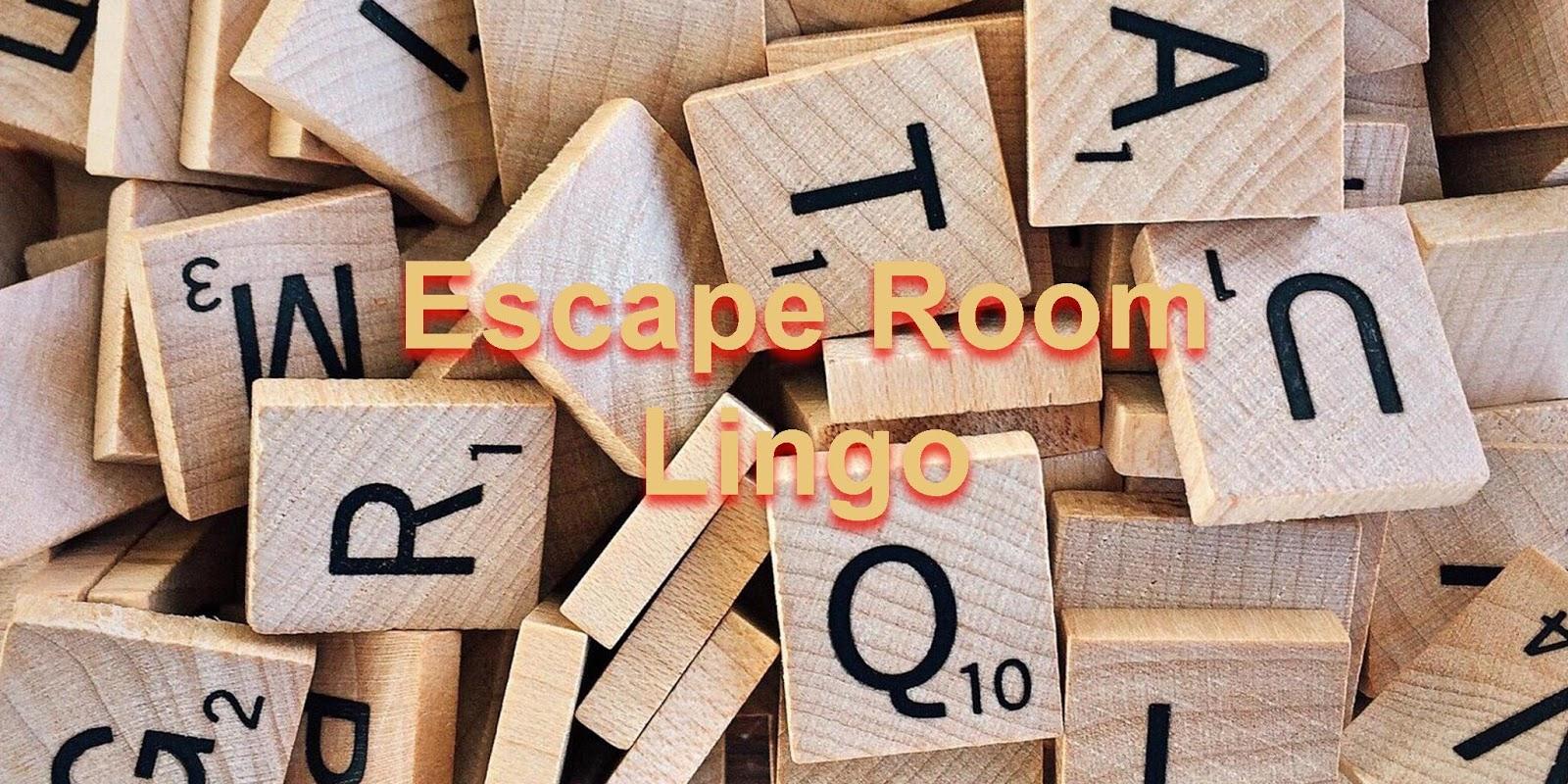 Escape Room Lingo - Trap Door Escape Room